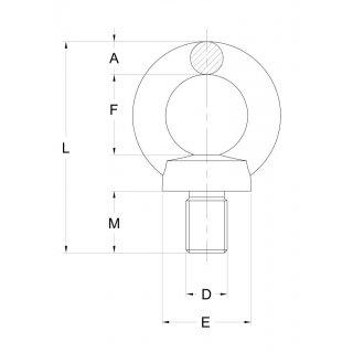 Ringschraube DIN 580