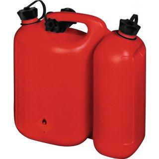 Kraftstoffdoppelkanister Inhalt 5,5 + 3 l