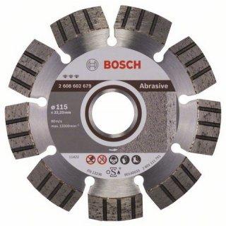Diamanttrennscheibe Bosch Best for Abrasive 115x22,23x2,2