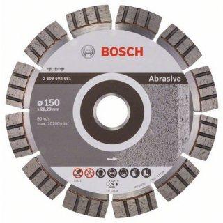 Diamanttrennscheibe Bosch Best for Abrasive 150x22,23x2,4