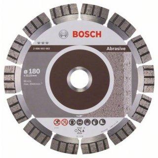 Diamanttrennscheibe Bosch Best for Abrasive 180x22,23x2,4