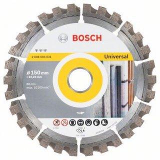 Diamanttrennscheibe Bosch Best for Universal 150x22,23x2,4
