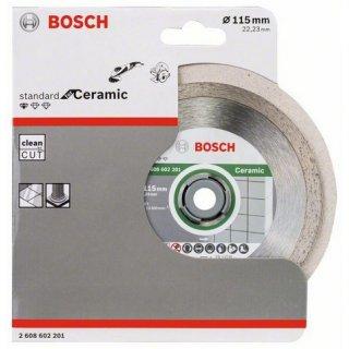Bosch Diamanttrennscheibe Professional für Ceramic 115x22,23x1,6