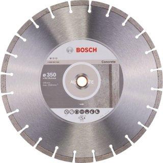 Diamanttrennscheibe Bosch Standard for Concrete 350x20,00/25,40x2,8, 2608602544