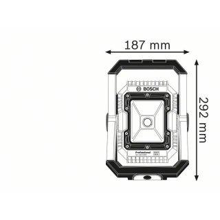 Akku-Lampe Bosch GLI 18V-1900 Null-Version, ohne Akku und Ladegerät