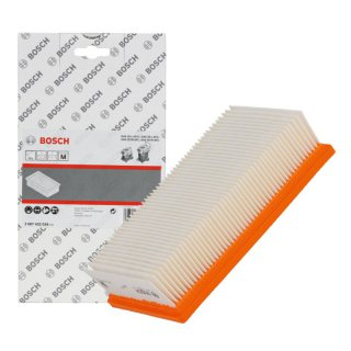Bosch 2607432034 Flachfaltenfilter für  GAS 35, GAS 55