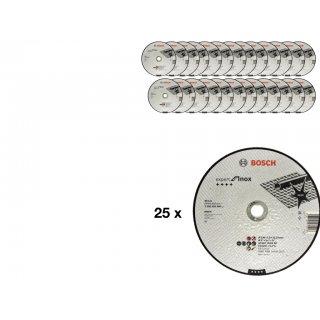 25 x BOSCH Trennscheiben Expert für Inox 230x22,23x2,0