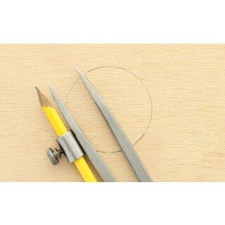 Zirkel 25 cm mit Bleistifthalter