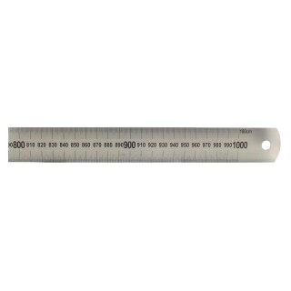 Stahllineal 150 cm