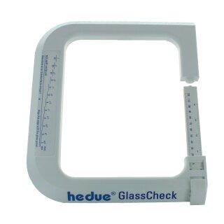Glasmessgerät hedue GlassCheck