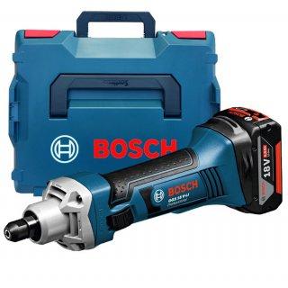 Akku-Geradschleifer Bosch GGS 18 V-LI (2x5.0Ah L-BOXX)