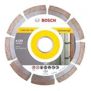 Diamanttrennscheibe Bosch Universal 125x22,23x1,6