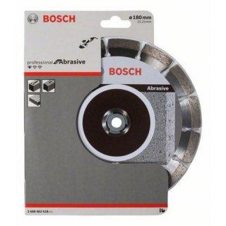 Diamanttrennscheibe Bosch Standard for Abrasive 180x22,23x2,0