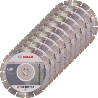 Diamanttrennscheibe Bosch Standard for Concrete 230x22,23x2,3 (VE 10 St)