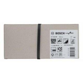 Bosch Säbelsägeblatt S 1122 BF Flexible for Metal, 100er-Pack 2608656032
