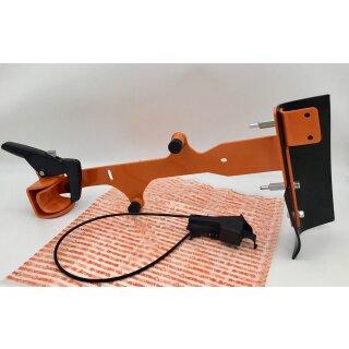 Umbausatz mit Schnellspannsystem für Führungswagen FW 20 und TS 700 TS 800