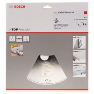 Bosch Kreissägeblatt Best for Multi 254 x 30 x 2.3 mm Z80