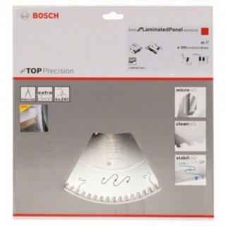 Bosch Kreissägeblatt Top Precision Best for Laminated Panel Abrasive 250x30x3,2 mm, 80Z