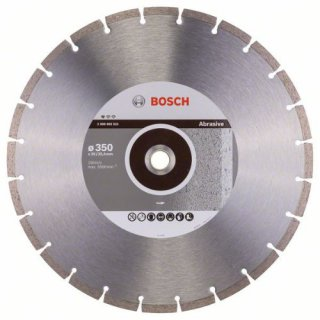 Bosch Diamanttrennscheibe Standard for Abrasive, 350 x 20,00/25,40 x 2,8 x 10 mm