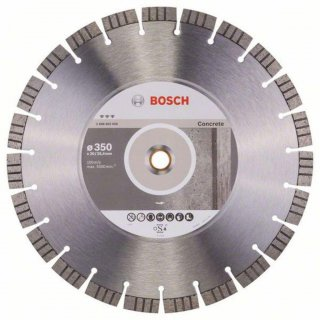 Bosch Diamanttrennscheibe Best for Concrete, 350 x 20,00/25,40 x 3,2 x 15 mm