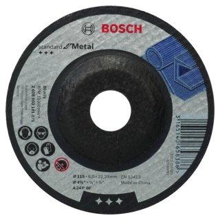 BOSCH Schruppscheiben Standard for Metal 125X6,0X22,23 METAL