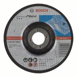Trennscheibe gekröpft Standard for Metal 125X2,5X22,23 A 30 S BF - 2608603160