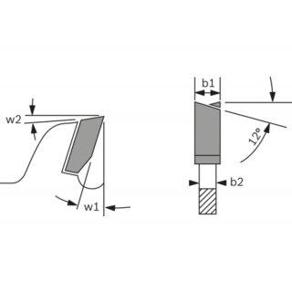 Kreissägeblatt Bosch Eco for Wood 254x30x3,0/2,0 z40
