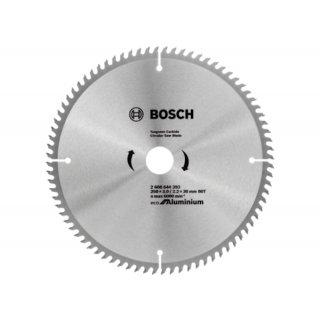 Kreissägeblatt Bosch Eco for Aluminium 254x30x3,0/2,2 z80