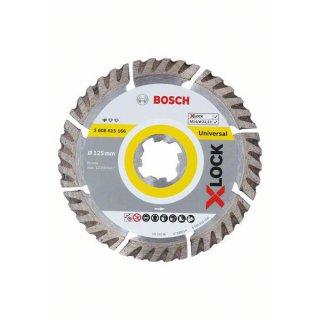 Diamantscheibe Bosch X-LOCK Standard for Universal 125x22,23x2,0