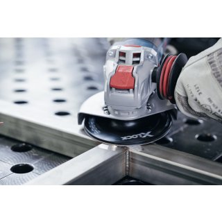 Stützteller Bosch X-LOCK 125 hart + X-LOCK Clip