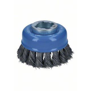 Topfbürsten gezopfter Draht Bosch X-LOCK Heavy for Metal  75,0x0,35