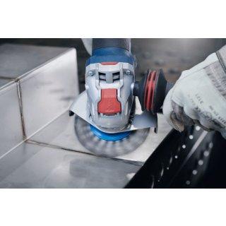 Topfbürsten gezopfter Draht Bosch X-LOCK Heavy for Inox 115,0x0,50 (rostfreier Stahldraht)