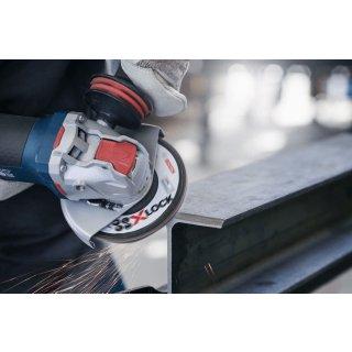 Schleifscheibe Fächerschleifscheibe gerade Bosch X-LOCK Best for Metal X571 125x22,23 gr  80
