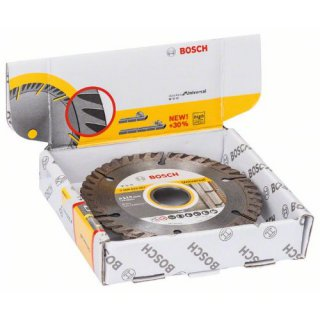 Diamantscheibe Bosch Standard for Universal Turbo 115x22,23x2,0 (VE 10 Stück)
