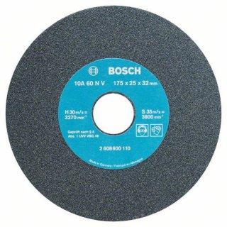 Bosch Schleifscheibe für Doppelschleifmaschine 175 mm, 32 mm, 60