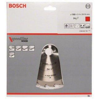 Kreissägeblatt Bosch Speedline Wood
