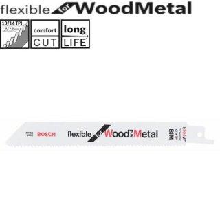 BOSCH S 922 VF Flexible for Wood and Metal Säbelsägeblätter  ( 2 st.) 2608656040