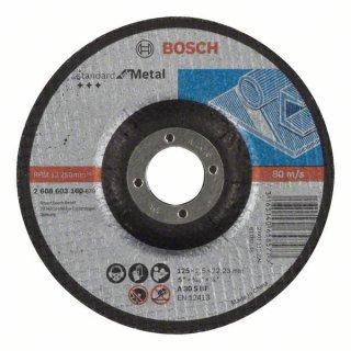 10x Trennscheibe gekröpft Standard for Metal 125X2,5X22,23 A 30 S BF