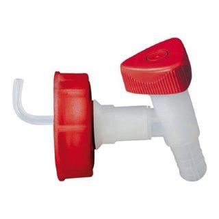 Auslaufhahn Ablasshahn  lebensmittelbeständig für Wasserkanister