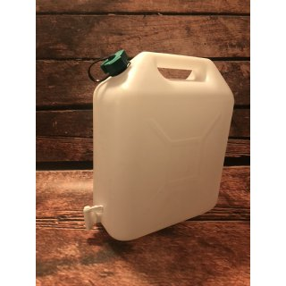 Wasserkanister 20 Liter mit Wasserhahn
