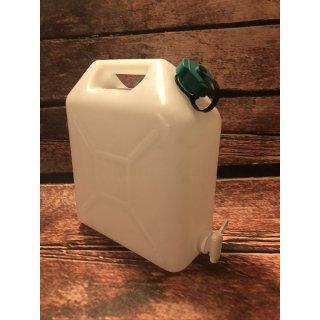 Wasserkanister 10 Liter mit Wasserhahn