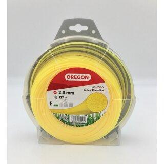 OREGON Freischneidefaden Gelb Roundline 2,0 mm x 127 m 69-358-Y