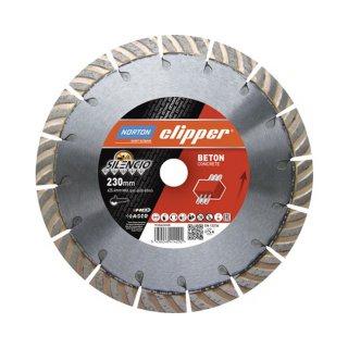 Norton Clipper Diamantscheibe Extreme Beton Silencio -  230 x 22,2 Höhe 17mm