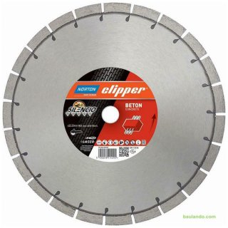 Norton Clipper Diamantscheibe Extreme Beton Silencio  350 x 25,4 mm Höhe 15 mm