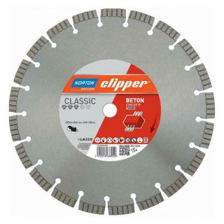 Norton Clipper Diamanttrennscheibe Classic Beton Turbo - 115x22,2 mm