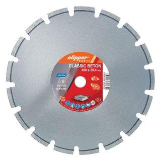 Norton Clipper Diamanttrennscheibe Classic Beton - 350x20,0 mm