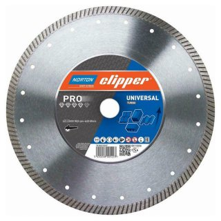 Norton Clipper Diamanttrennscheibe Pro Universal Turbo - 180x22,2 mm