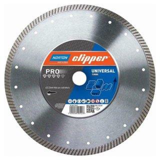 Norton Clipper Diamanttrennscheibe Pro Universal Turbo - 350x25,4 mm