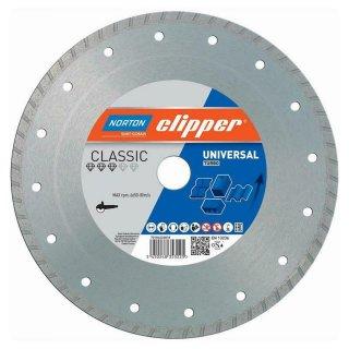 Norton Clipper Diamanttrennscheibe Classic Universal Turbo - 125x22,2 mm