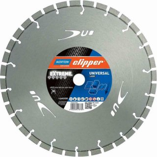Norton Clipper Diamanttrennscheibe Extreme Universal Laser - 350 x30/25,4 mm